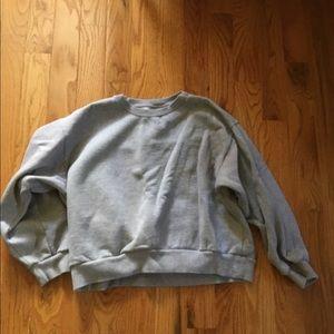 Women's Everlane gray sweatshirt ~Large